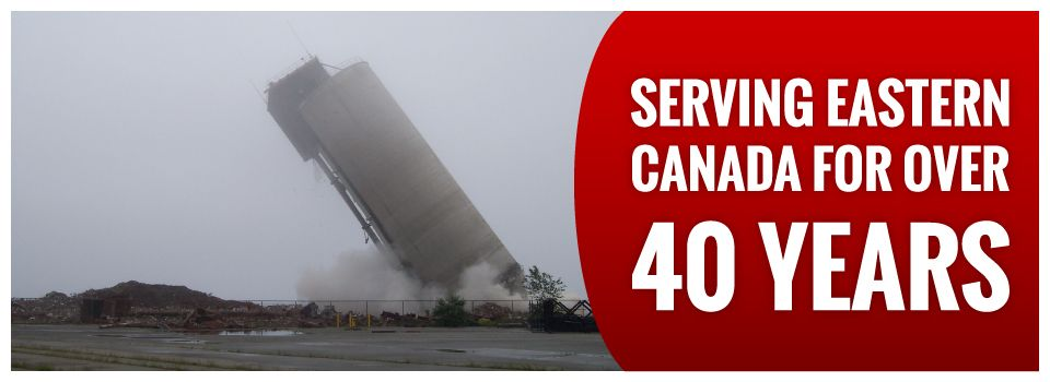 Serving Eastern Canada for Over 40 Years | Silo demolition